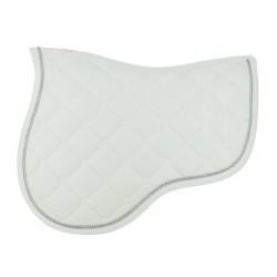 Equi-Theme Découpé Saddle Pad White