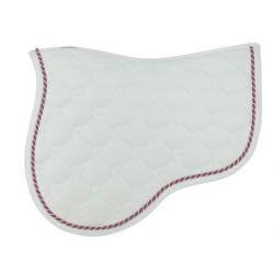 Tapis sport Equi-Theme Découpé brodé Blanc