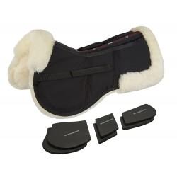 Amortisseur LeMieux Pro-Sorb mouton 3 poches Naturel / noir