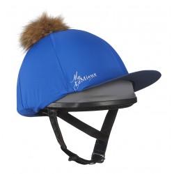 Toque My LeMieux en soie pour casque Benetton / marine
