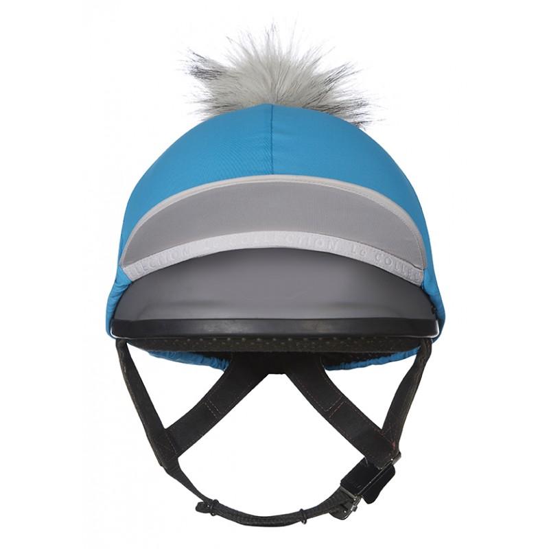 b346029e702 ... My LeMieux Hat Silk Teal   grey ...