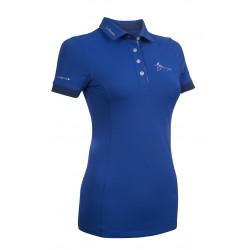 Polo de equitación My LeMieux Benetton azul