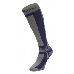 Calcetines de equitación LeMieux Technical Azul marino / gris
