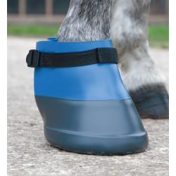 Bota cuidado para caballo Shires Azul