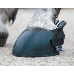 Zapatos de goma caballo Shires Negro