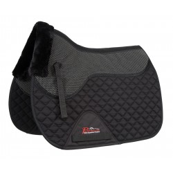 Shires Airflow Anti Slip Saddlecloth Black