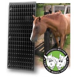 Rascador especial caballo Shires Negro