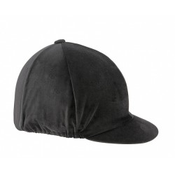 Shires Velvet Hat Cover Black