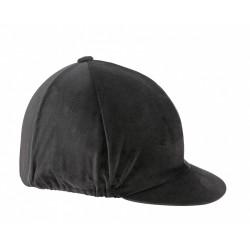 Toque casque équitation velours Shires Noir