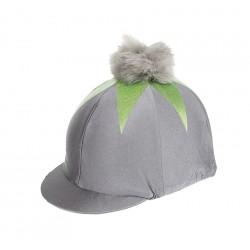 Toque pour casque avec pompon et étoile Shires