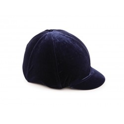Funda gorra para cascos Velveteen Shires Negro