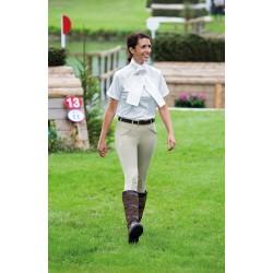 Pantalón de equitación Stratford Performance Shires mujer Beige