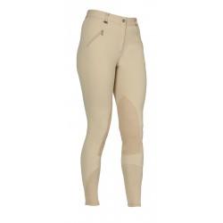Pantalón de equitación Portland Performance Shires hombre Blanco