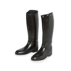 Shires Long Waterproof Riding Boots Childrens Black