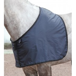 Shires Satin Anti-rub Bib Navy