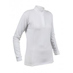 Polo thermique Hunt Shires Femme Blanc