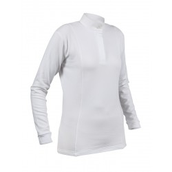 Shires Thermal Hunt Shirts Ladies White