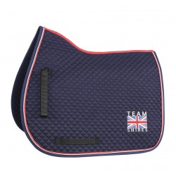 Team Shires Saddle Cloth Navy