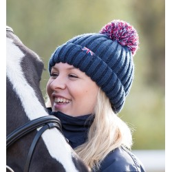 Team Shires Bobble Hat Navy
