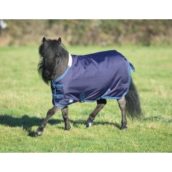 Shires Miniature Tempest Navy blue / turquoise