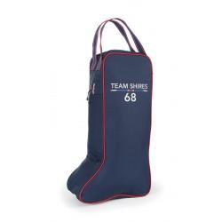 Team Shires Long Boot Bag Navy