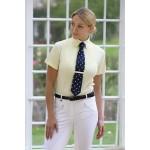 Chemise femme Shires à manches courtes à cravate