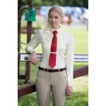 Chemise femme Shires à manches longues à cravate