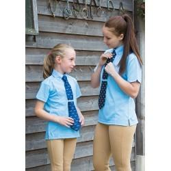 Chemise enfant Shires à cravate à manches courtes