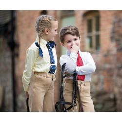 Chemise Shires à cravate à manches longues