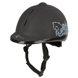 Casco de equitación Beauty Covalliero Negro
