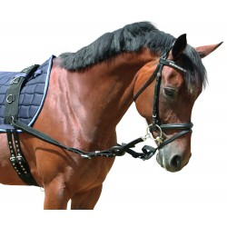 Covalliero Side Reins Black