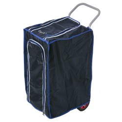 Cover for Equit'M saddle trolley Navy blue / blue