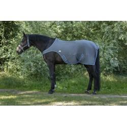 Equi-Theme Softshell walker rug Grey / blue