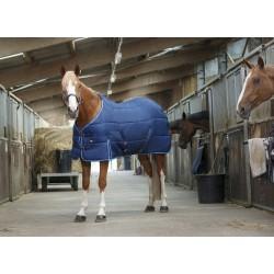 Riding World stable rug Marine / sky blue