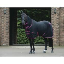 Weatherbeeta Fleece Cooler Combo Black / berry