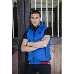 Equi-Theme Reversible Padded Jacket Men Black / blue
