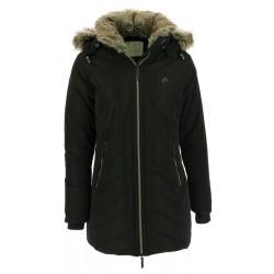 Equi-Theme Padded Coat Ladies Black