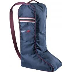 Equit'M Boot bag Navy blue / blue