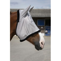 Equi-Theme PRO fly mask Grey / Black