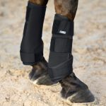 Horze Brushing Boots Black