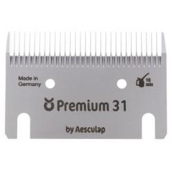 Jeu de peignes Premium 31 / 23 dents