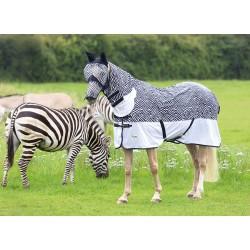Couverture combo anti-mouches Tempest Original Zebra Shires
