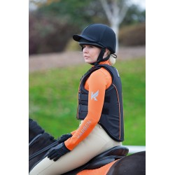 Gilet de protection Karben Shires Adulte Noir