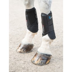 Shires Arma Air Motion Xc Boots Front Black