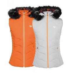 Shires Aubrion Thistledown Padded Gilet Ladies Grey