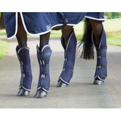 Shires Arma Travel Boots navy blue, white