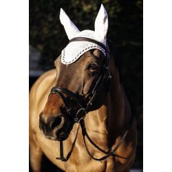 Fly Mask Covalliero Collection White