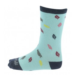 Equi-Kids Beauty Socks Sly blue / navy blue