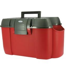 Hippo-Tonic Koala Tack Box Red / black