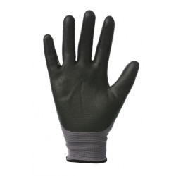 Riding World Groom Gloves Grey / Black
